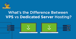 Difference Between VPS Hosting and Dedicated Hosting