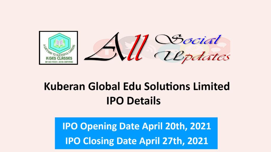 Kuberan Global Edu Solutions Limited IPO