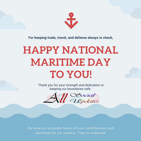 Happy National Maritime Day India Quotes