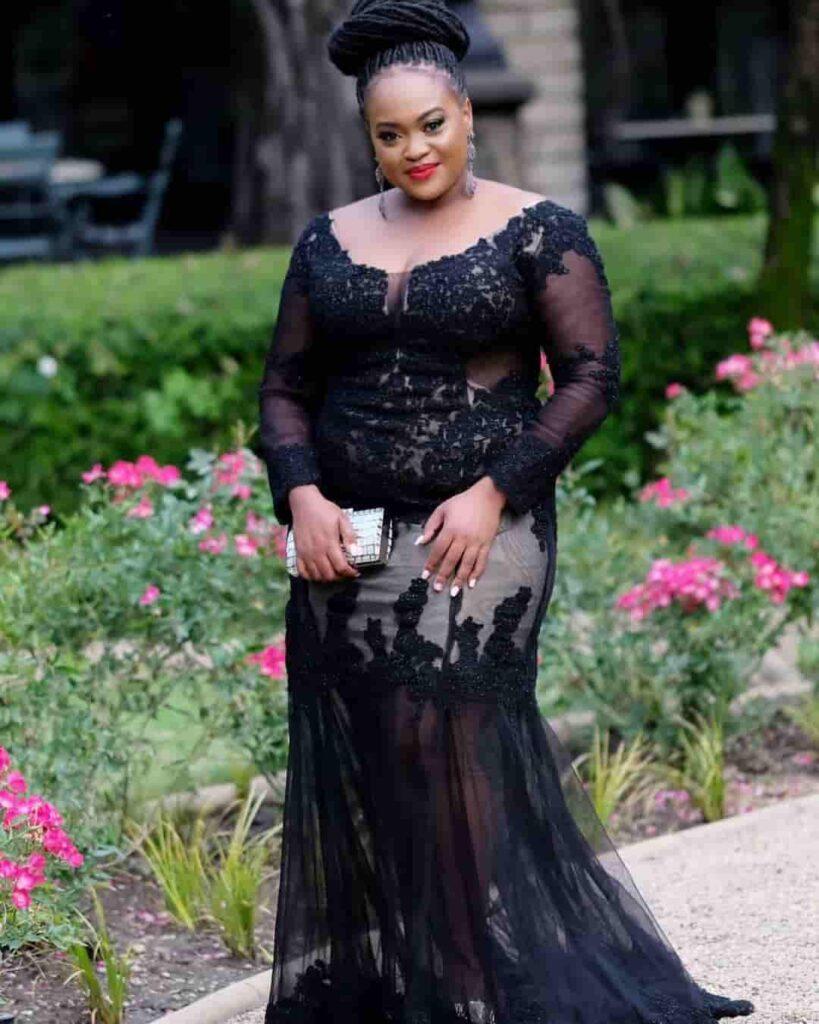 Kayise Ngqula in Black