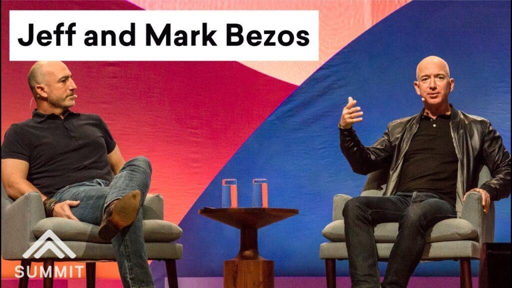 mark and jeff bezos