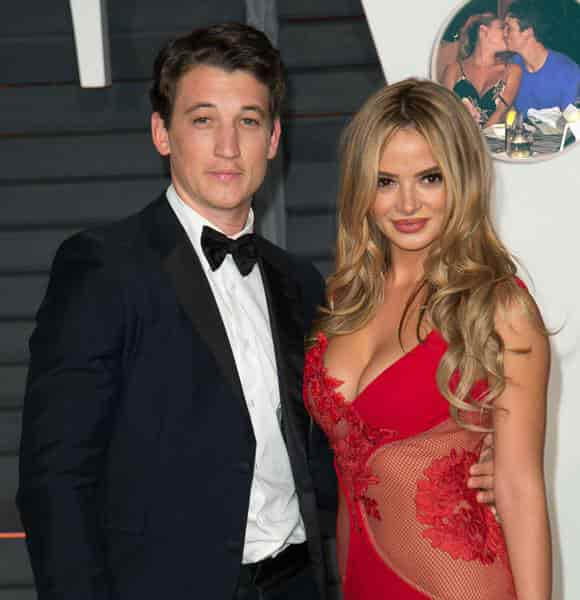 Miles Teller and wife Keleigh Sperry-min