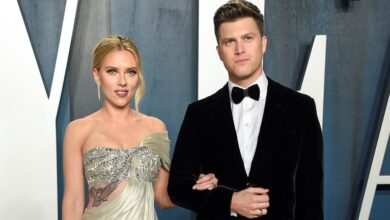 Black-Widow-Star-Scarlett-Johansson-First-Baby-Boy-With-Husband-Saturday-Night-Live-Star-Colin-Jost-Wiki-Bio-More